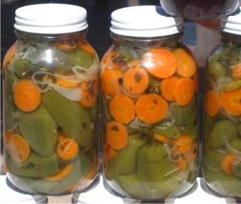 Tecnolog a para elaborar chiles en vinagre - Encurtido de zanahoria ...