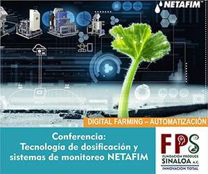 CONFERENCIA - Silicio orgánicoTecnología de dosificación y sistemas de monitoreo NETAFIM